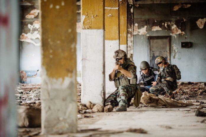 reportaż wojenny zdjęcie