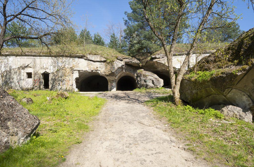 Ruiny fortu Beniaminów