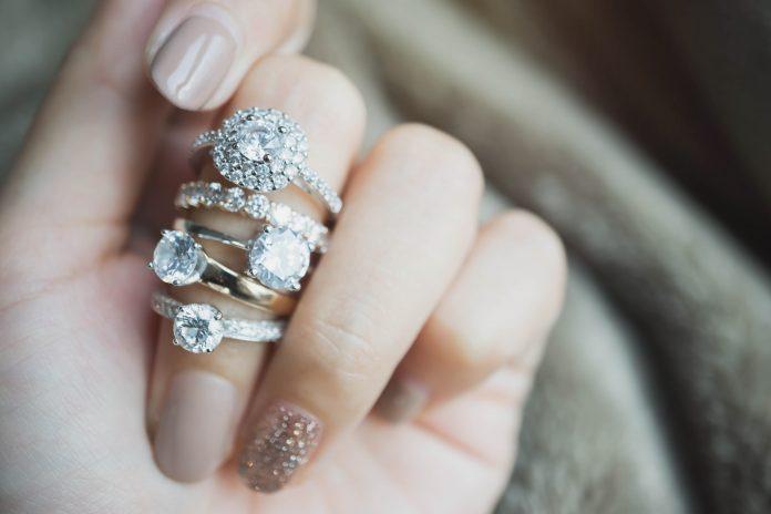 diamenty biżuteria