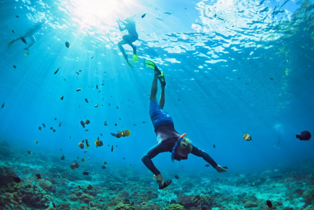 kamera sportowa nurkowanie