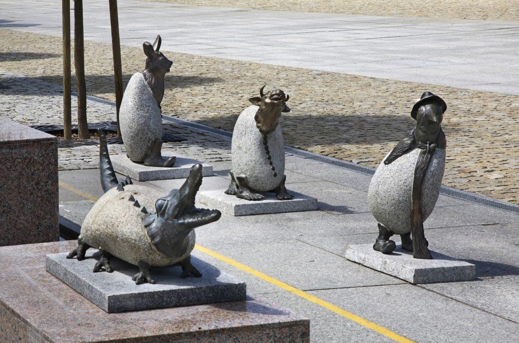 Kostrzyn nad Odrą rzeźby