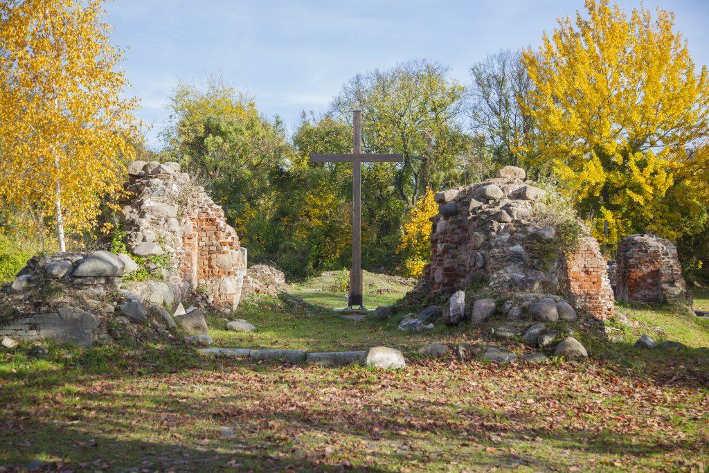 Ruiny Kościoła Mariackiego na starym mieście