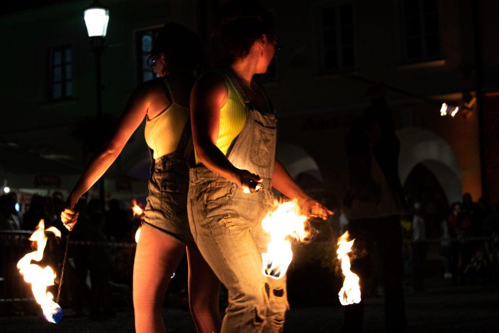 fireshow teatr strach