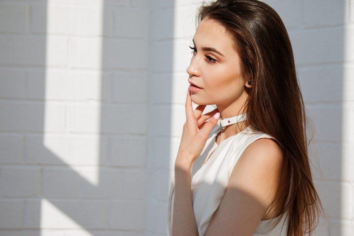 kobieta kosmetyki