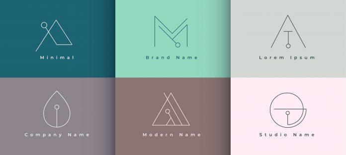 minimalistyczne logo